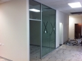 Office Meeting Room with glass walls