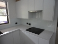 Kitchen splashback in Newcastle