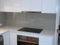 Splashbacks in a kitchen