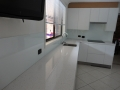 Glass counter and splashback
