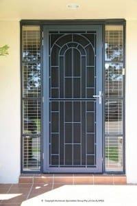 Federation style Invisi-Gard front door