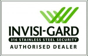 Dee Glass are an Invisi-Gard Security Doors authorised dealer